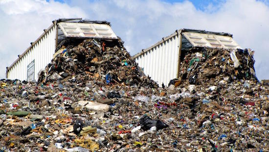 what are the problems with burying waste in landfill sites e64b66eb3e7a4505