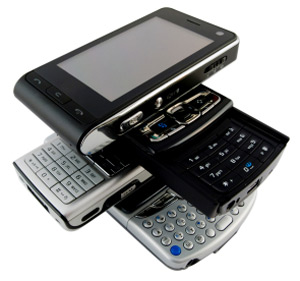 cell phone pda stack 300