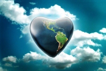 happy valentines day to the earth green valentines day
