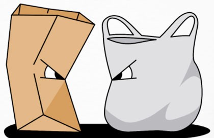 plastic vs paper bag
