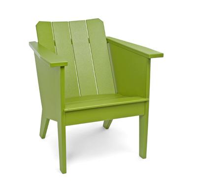 deckchair green