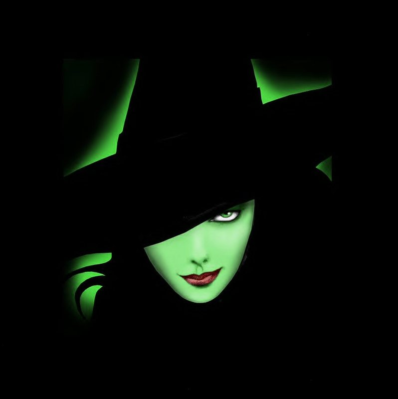 Halloween Green Witch Wallpapers1