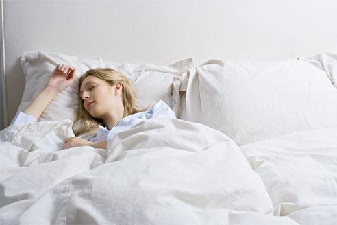 sleep girl picture