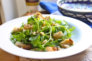 Pine nut and Arugula Salad 2