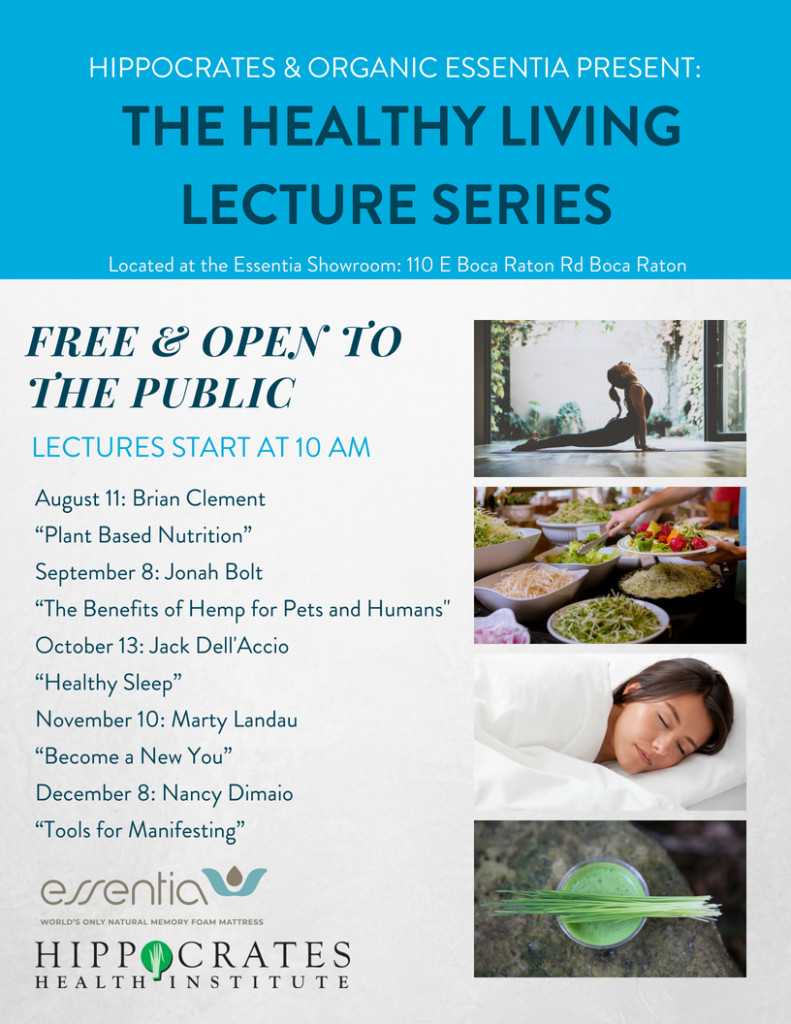 Healthy Living Lecture Series