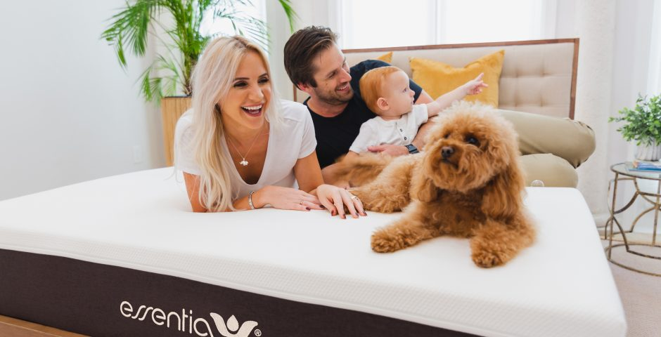 Essentia Organic Mattress Lifestyle Image